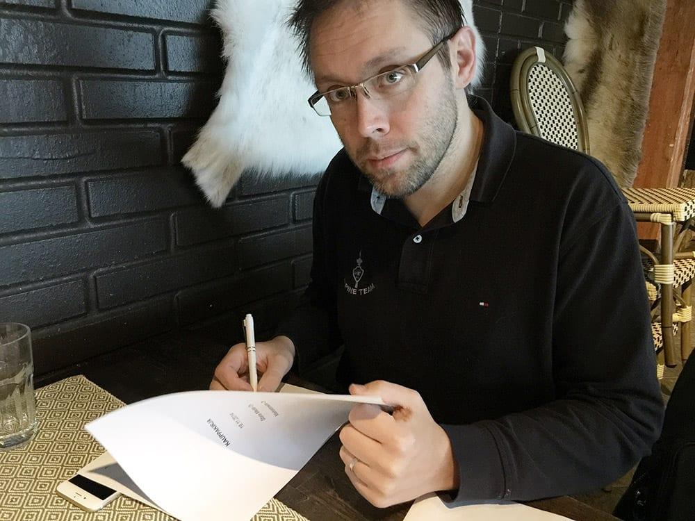 Stara Median toimitusjohtaja Jocka Träskbäck.